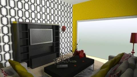 Retro Living - Retro - Living room  - by AubriG88