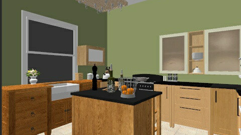 gghg - Vintage - Kitchen - by Shurkova