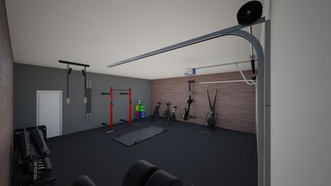 Hunters home gym - by rogue_075709690697f7c95875387922de4