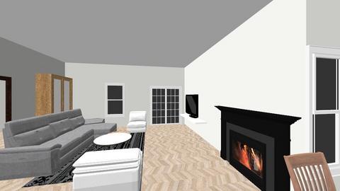 Woonkamer en keuken - Living room  - by Roberto Carrera