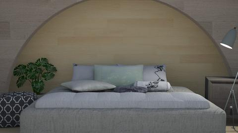 Wooden Harmony - Modern - Bedroom  - by millerfam