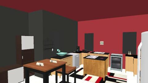 kitchen - Retro - Kitchen  - by clo_bug12