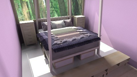 Forestmodern_MasterBed - Bedroom - by moonkai