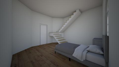 Modern bedrrom - Modern - Bedroom  - by lochhunter