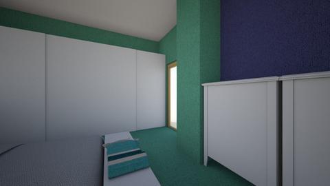 Bedroom Brehm - Rustic - Bedroom  - by galinatsa