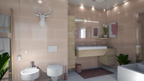 Womanbath - Bathroom - by Pamela Luna Wojciukiewicz