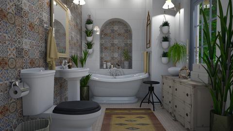 Bohemian - Bathroom  - by Thrud45