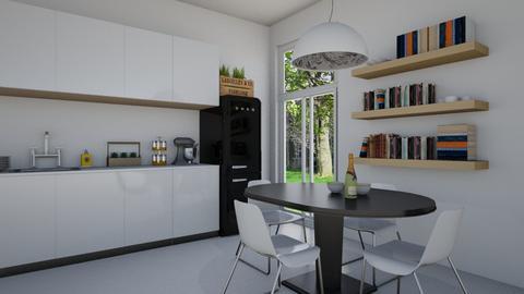 White Kitchen - Kitchen - by Natalie T