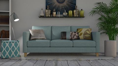 Sapphire - Modern - Living room  - by millerfam
