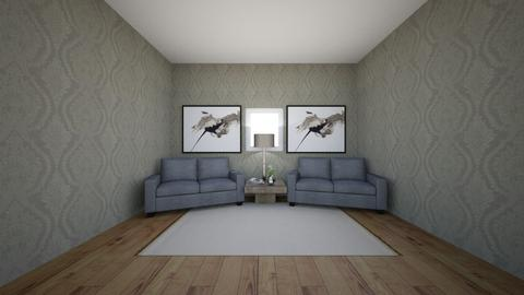 symetrical - Living room  - by Marieli Alvizu