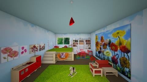 Poppy Kids Room - Kids room  - by mydreamjob25
