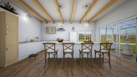 Farmhouse kitchen - Kitchen  - by NGU0008