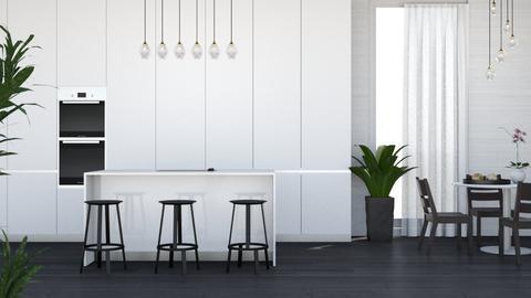 kitchen for elliers11 - Modern - Kitchen  - by Wensday