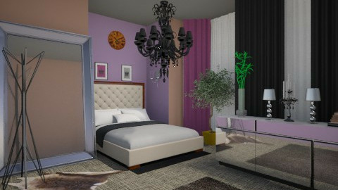 Bedroom Silvia - Modern - Bedroom  - by andreana_cekic