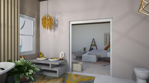 Desire appreciation - Rustic - Living room  - by Joddles