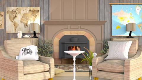 Travel Living Room - Modern - Living room  - by MB2006