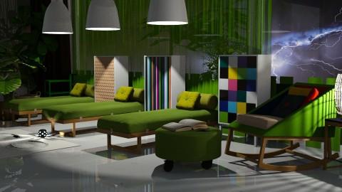 JayaA2Triplet - Modern - Bedroom  - by anchajaya