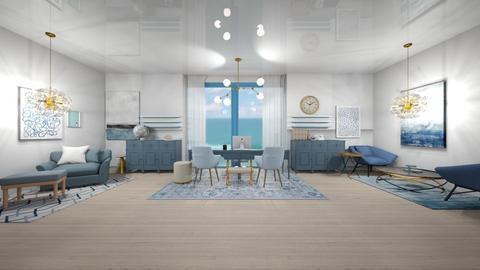 Coastal Office - Modern - Office  - by deleted_1623825262_Lulu12345678910