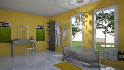Yellow Master Bath - Modern - Bathroom  - by Yate