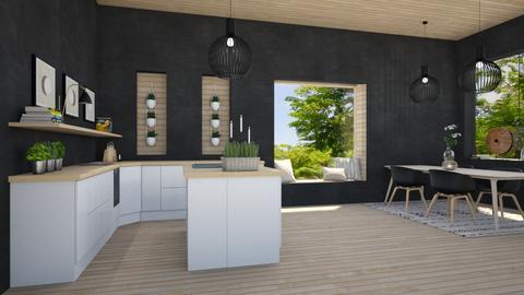 d i n e r - Modern - Kitchen  - by Marlisa Jansen