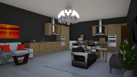Modern Kitchen - Kitchen  - by riordan simpson