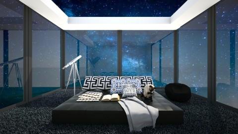 Stargazing bed - Modern - Bedroom  - by bgref