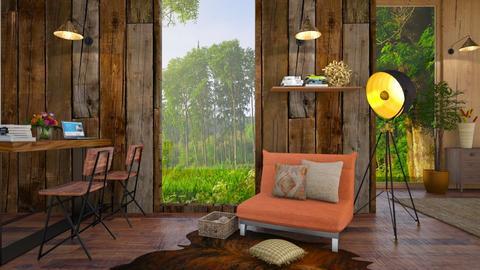 Wooden Wall - by BibiMarton
