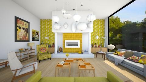 Amiens2 - Retro - Living room  - by camilla_saurus