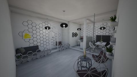 Honeycomb office  - Modern - Office  - by ZolaKate