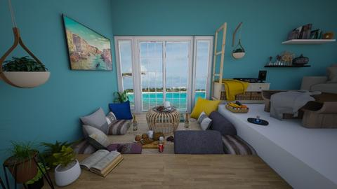 seafacing picnic - Classic - Living room  - by harshada samant