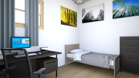 Simple Bedroom - Minimal - Bedroom - by GalangPratama