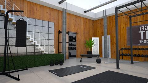 Fitness Court  - by SofiaL