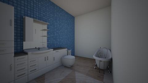 modern bathroom - Modern - Bathroom  - by kristalemountine