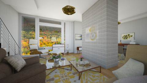 house - Living room - by paveldiego