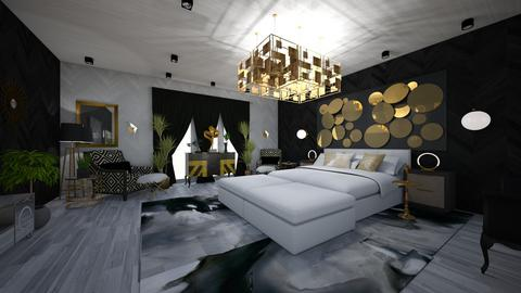 Bedroom Design - Glamour - Bedroom - by danes