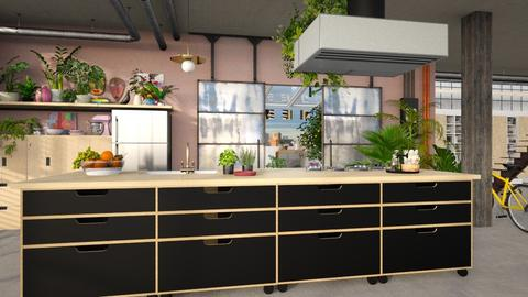 urban jungle - Kitchen - by marinmarin