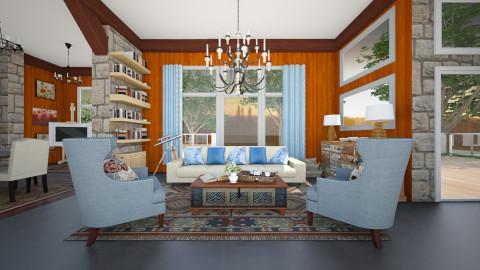 Shepard lodge  - Living room - by aimee_noelle