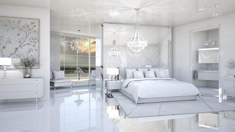 IN THE WHITE ROOM - Modern - Bedroom  - by RS Designs