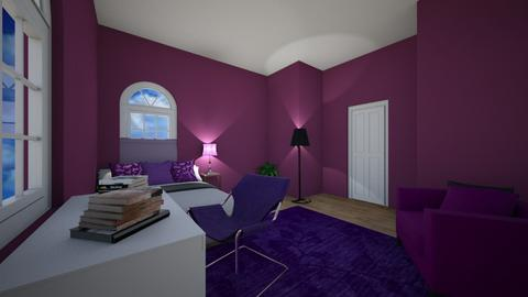 Lavender bedroom - Bedroom  - by Snowball Styler