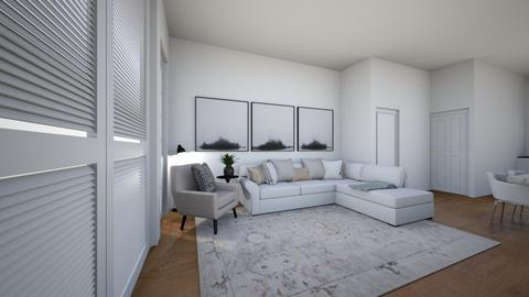 Lounge Wood Floor 2 - Living room  - by mbennett111