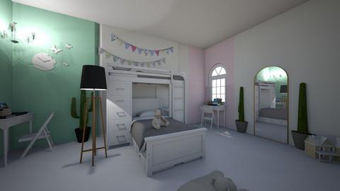kids room - by Crocsrule2