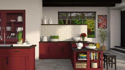 608 - Country - Kitchen  - by Claudia Correia