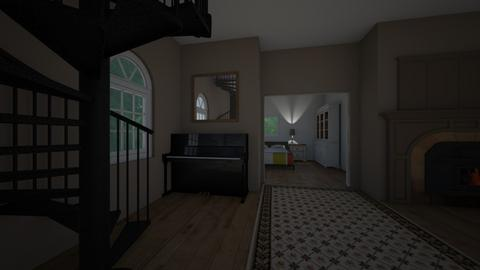 the piano room - Living room  - by michael_heaven24