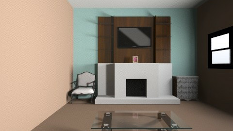 Me house and my house - Living room - by reynaxa