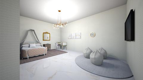 pink - Bedroom  - by frisbir20