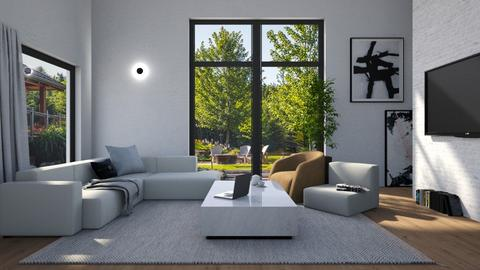 L - Modern - Living room  - by tolo13lolo