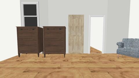 Garage Conversion - Bedroom  - by mrsanakwa