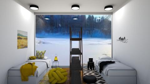 Twins bedroom - Bedroom  - by Doraisthe_nameofmydoggo12345