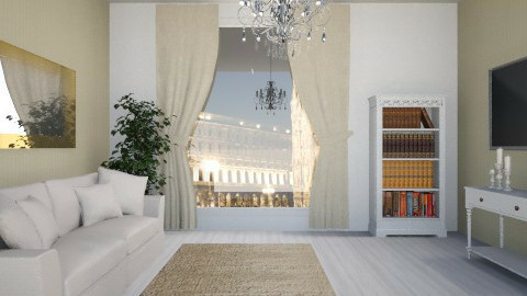Champagne Living Room - Vintage - Living room  - by Federica_G1993