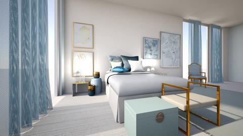 turquesa - Bedroom - by ana111